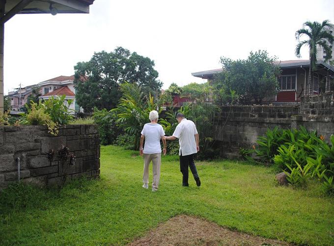 风水大师许少锋为菲律宾华侨S太太种生基风水