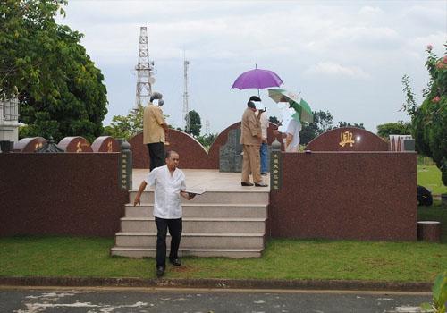 华侨H先生的墓园|陵园风水|阴宅风水设计